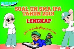 Download Soal UN SMA 2013 Jurusan IPA All Mapel
