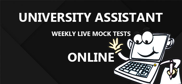 PSC University Assistant Weekly Live Mock Tests