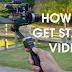 Cara Menstabilkan video dengan filmora