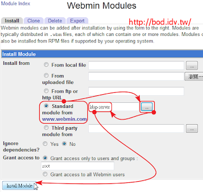 bod-idv-tw小書製作: 在ubuntu下,使用webmin管理OpenLDAP