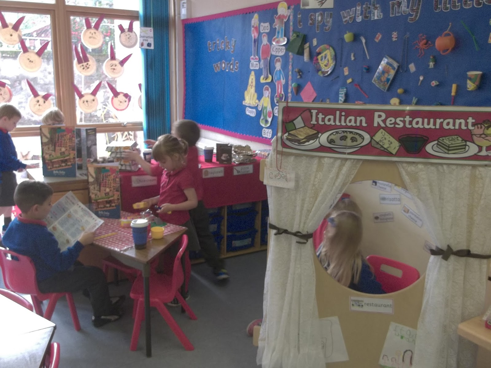 Italian Restaurant Logo With Flag: European Day Of Languages 2015: Crown Primary School