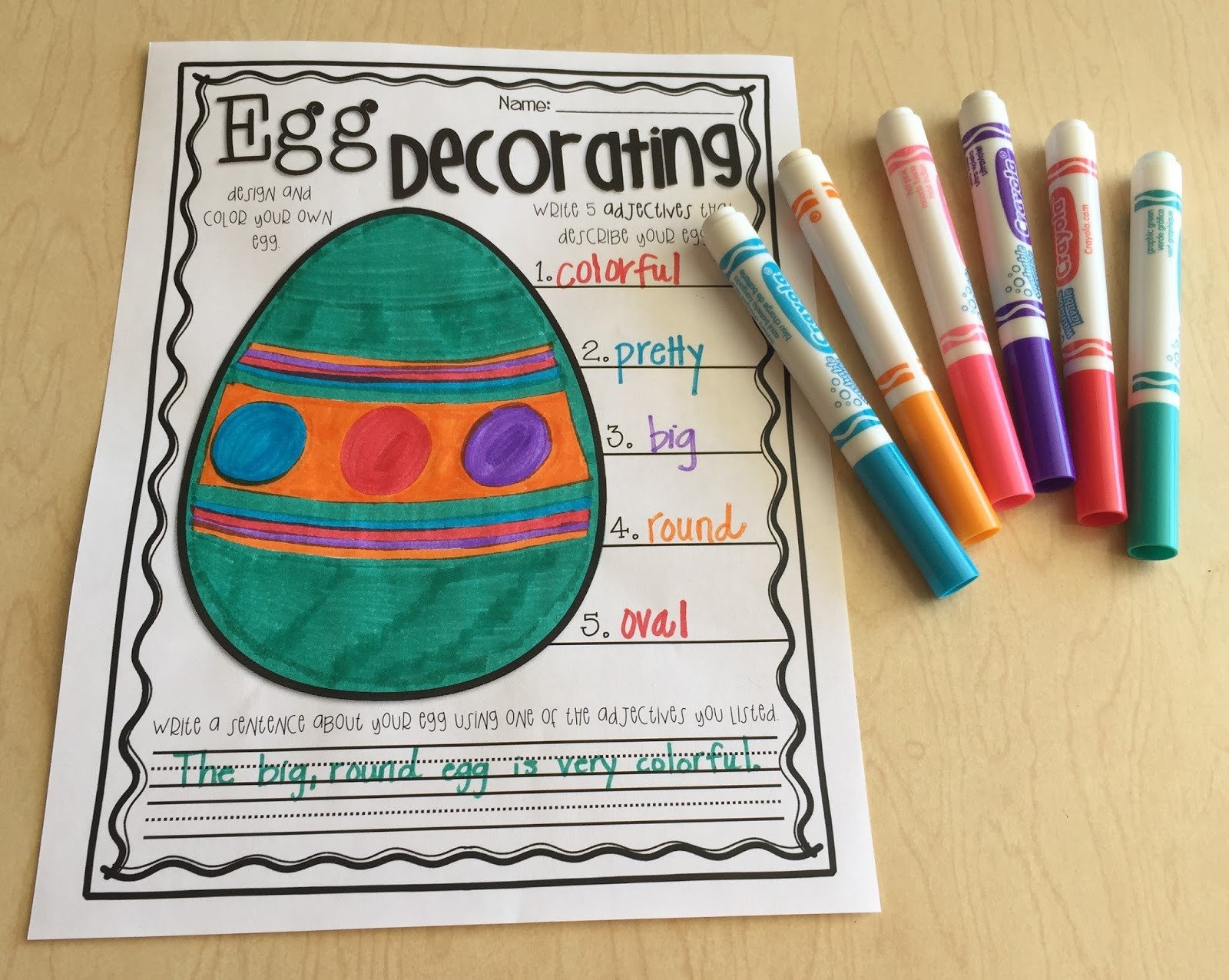 Teaching With Terhune Egg Activities To Do Around Easter