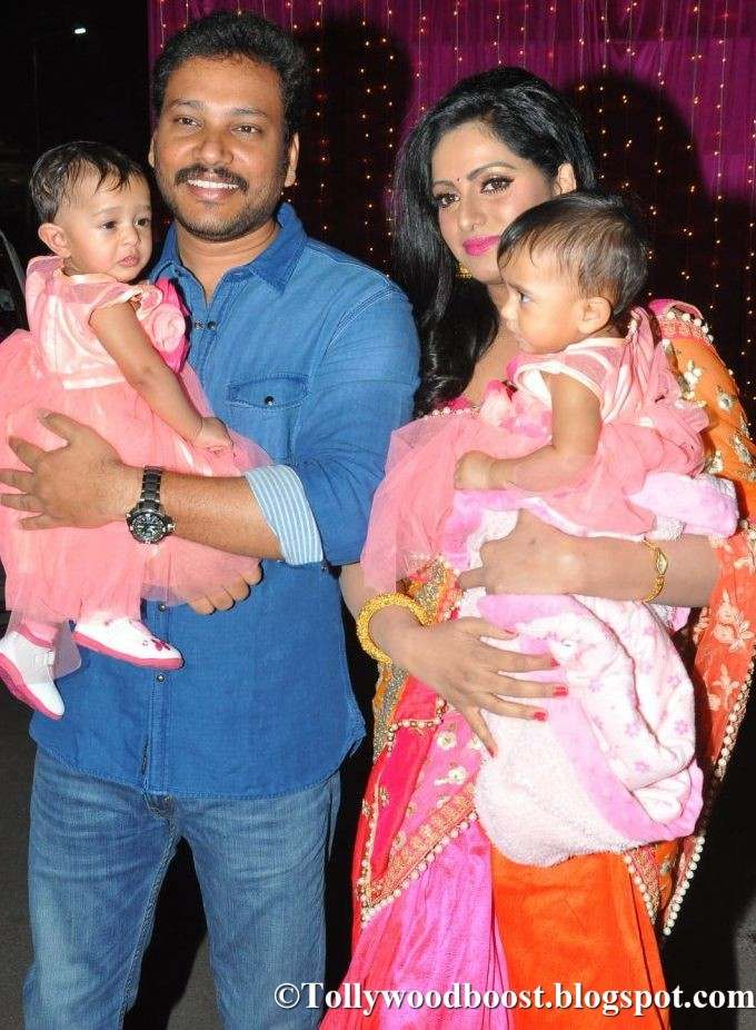 Anchor Udaya Bhanu Daughters and husband