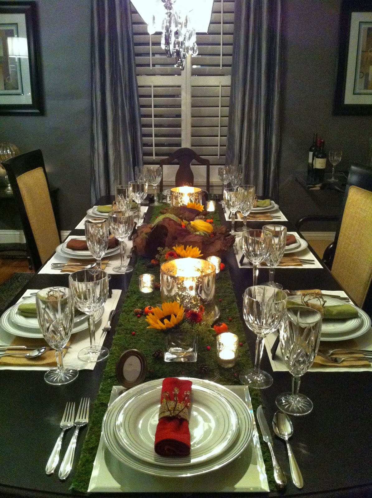 The Luxe Lifestyle Fall Themed Dinner Party
