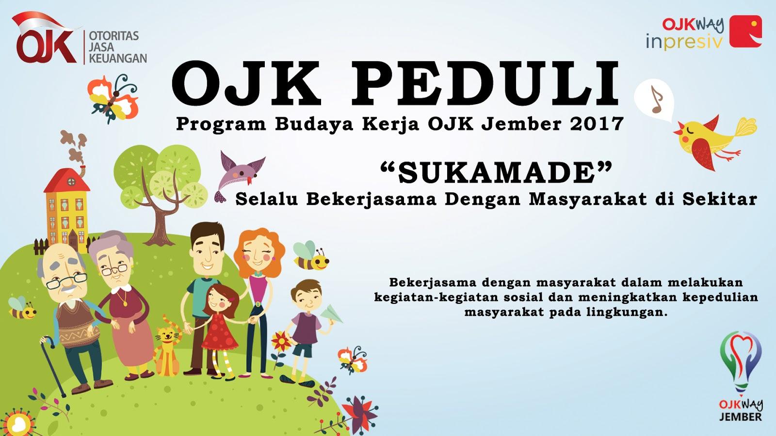 OJK Peduli - Program Budaya Kerja OJK Jember