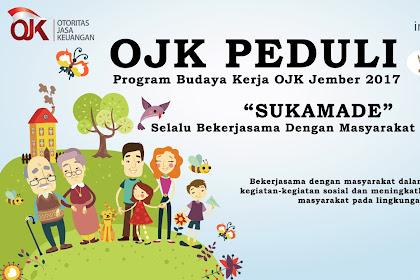OJK Peduli - Program Budaya Kerja Otoritas Jasa Keuangan Jember