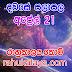 රාහු කාලය | ලග්න පලාපල 2019 | Rahu Kalaya 2019 |2019-04-21
