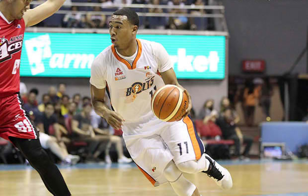 Chris Newsome (Meralco Bolts)