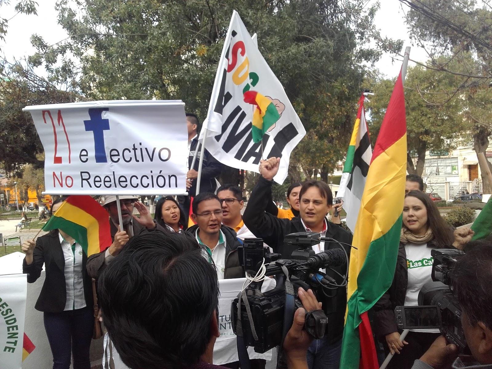 Las plataformas ciudadanas, nuevo agente político en el escenario boliviano / VISOR BOLIVIA
