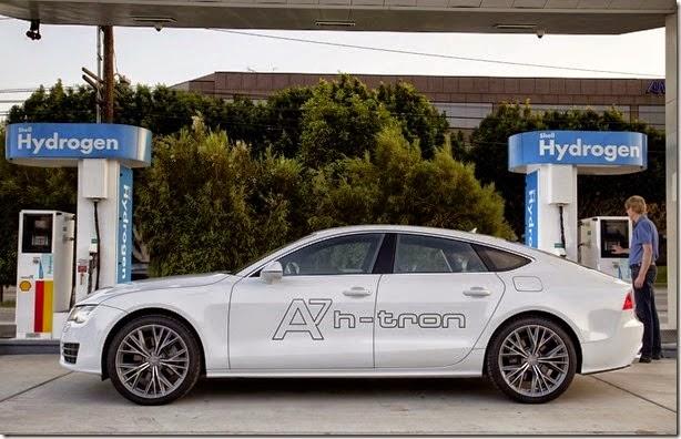 #Audi-A7 Sportback-H-Tron movido a hidrogênio