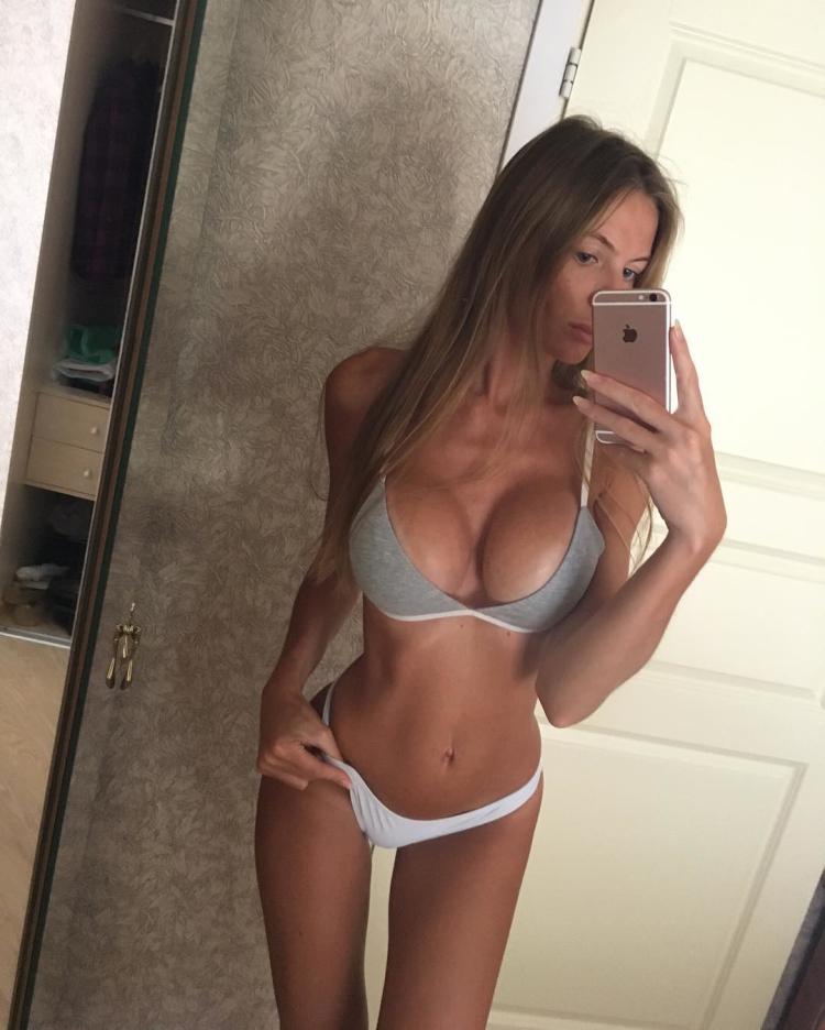 Anastasia Skyline fitness model Russian