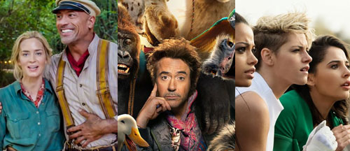 new-movie-trailers-jungle-cruise-dolittle-charlies-angels