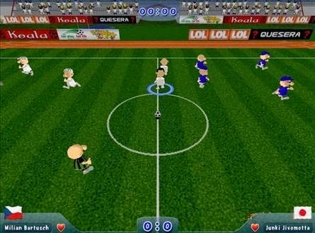 Download Game Sepakbola Slam Soccer 2006