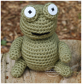 free crochet amigurumi frog pattern free crochet frog pattern Cute crochet frog amigurumi pattern FREE