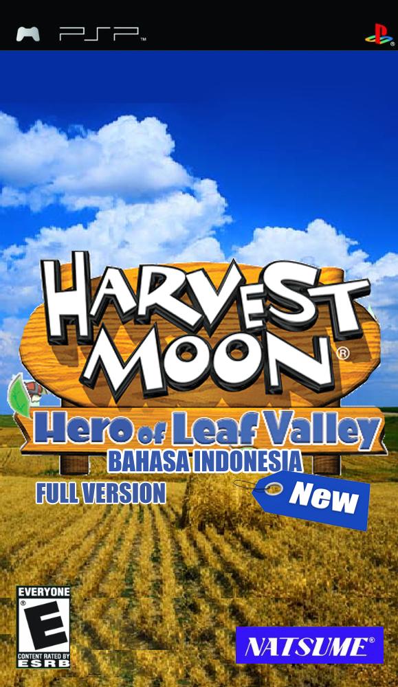 Download Harvest Moon Hero of Leaf Valley Bahasa Indonesia