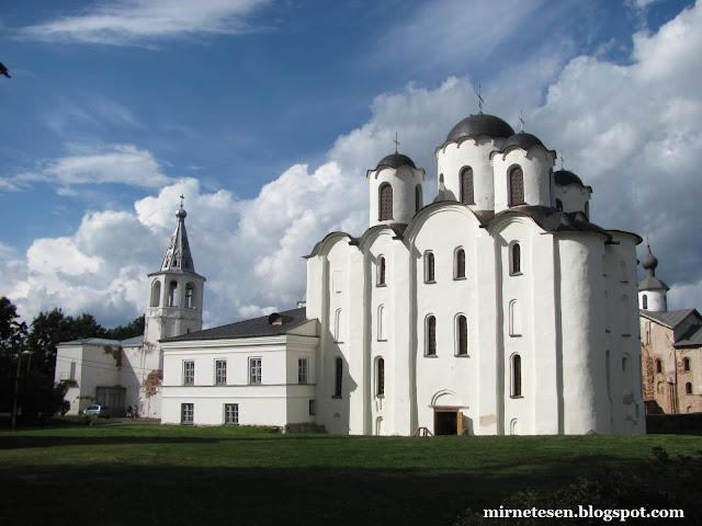 Великий Новгород - Никольский собор