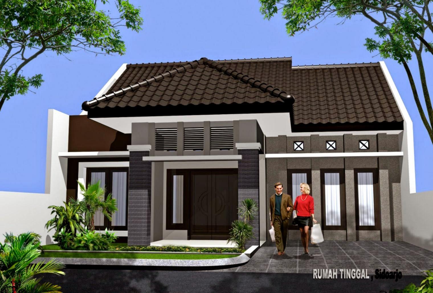 Gambar Rumah Minimalis 1 Lantai Full | Desain Rumah Minimalis