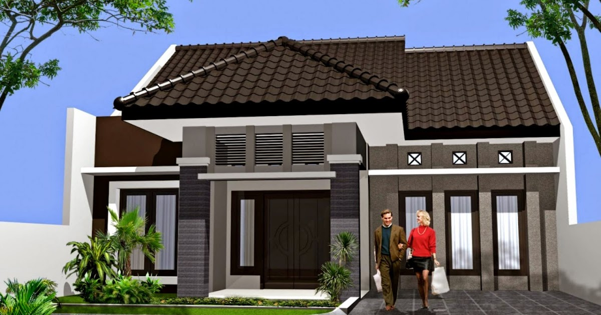 Desain Rumah Minimalis Ukuran 9x12  11 gambar rumah minimalis 1 lantai terbaru desain rumah