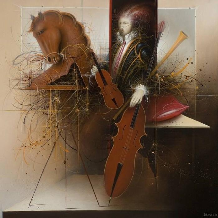 Современные художники Бельгии. Jean-Claude Dresse 9