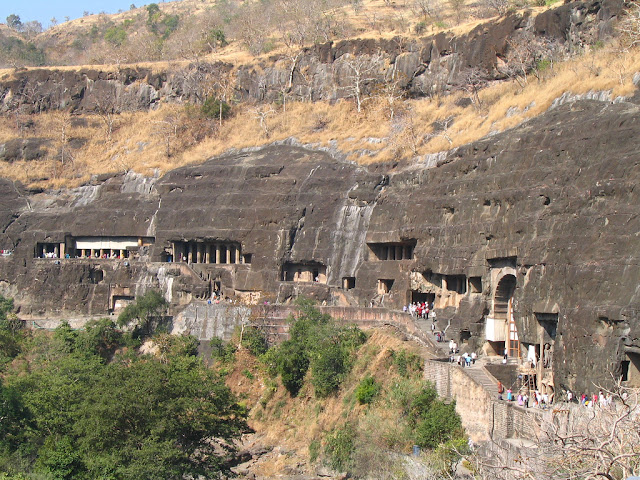 Ajanta and Elora Cave is one of the top destination in India.it is Situated in Maharastra.