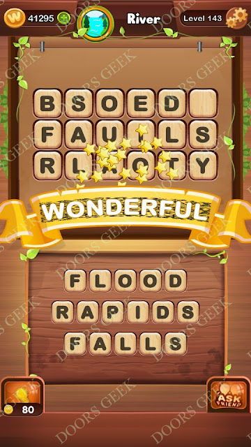 Word Bright Level 143 Answers, Cheats, Solutions, Walkthrough for android, iphone, ipad and ipod