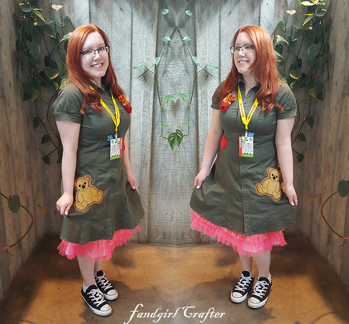 Kaylee Frye inspired Dress at ECCC