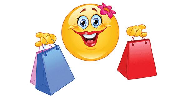 Shopping Smiley | Symbols & Emoticons