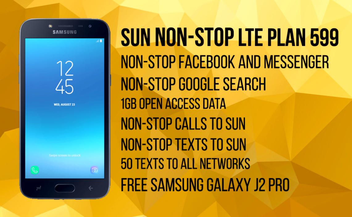 Sun Postpaid, Sun Postpaid Non-Stop LTE Plan 599