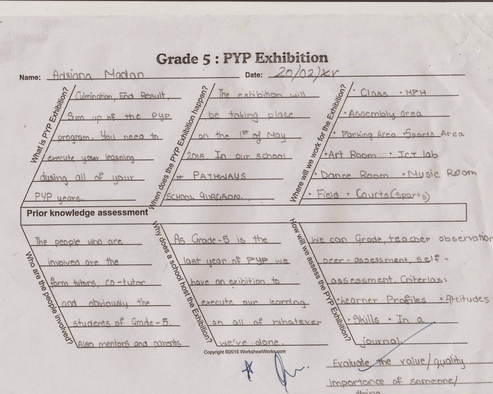 Pathways School Gurgaon , PYP Exhibition 2015