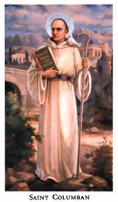 sveti Kolumban - opat in irski misijonar