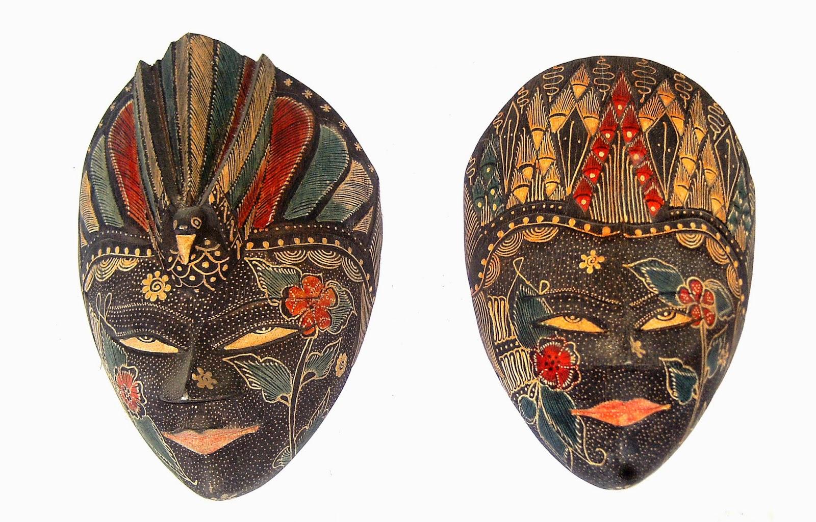 Kumpulan Gambar Topeng Tradisional Gambar Topeng Seni