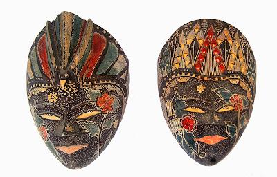 Gambar Topeng Tradisional Seni Budaya Indonesia Seluruh Provinsi