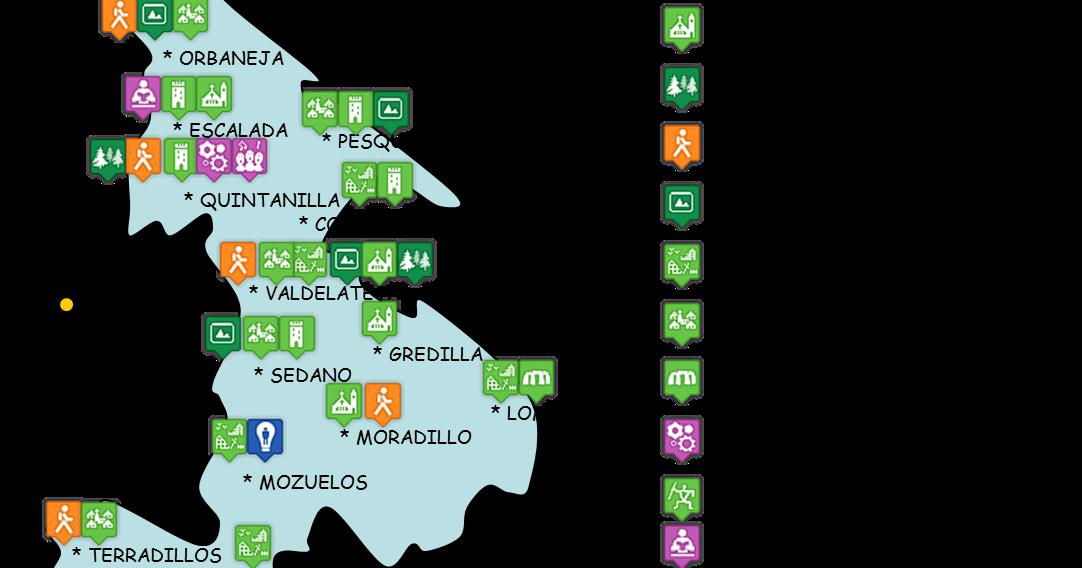 Valle De Sedano Mapa.Tierras De Burgos Valle De Sedano