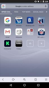 Opera browser beta v42.9.2246.119945