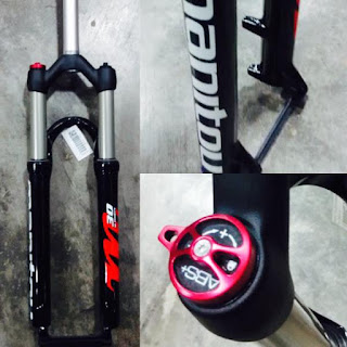 Fork Manitou M30 Travel 100 Rebound Speed