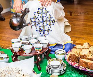 Nghi thức cầu nguyện uống cà phê của người Ethiopia