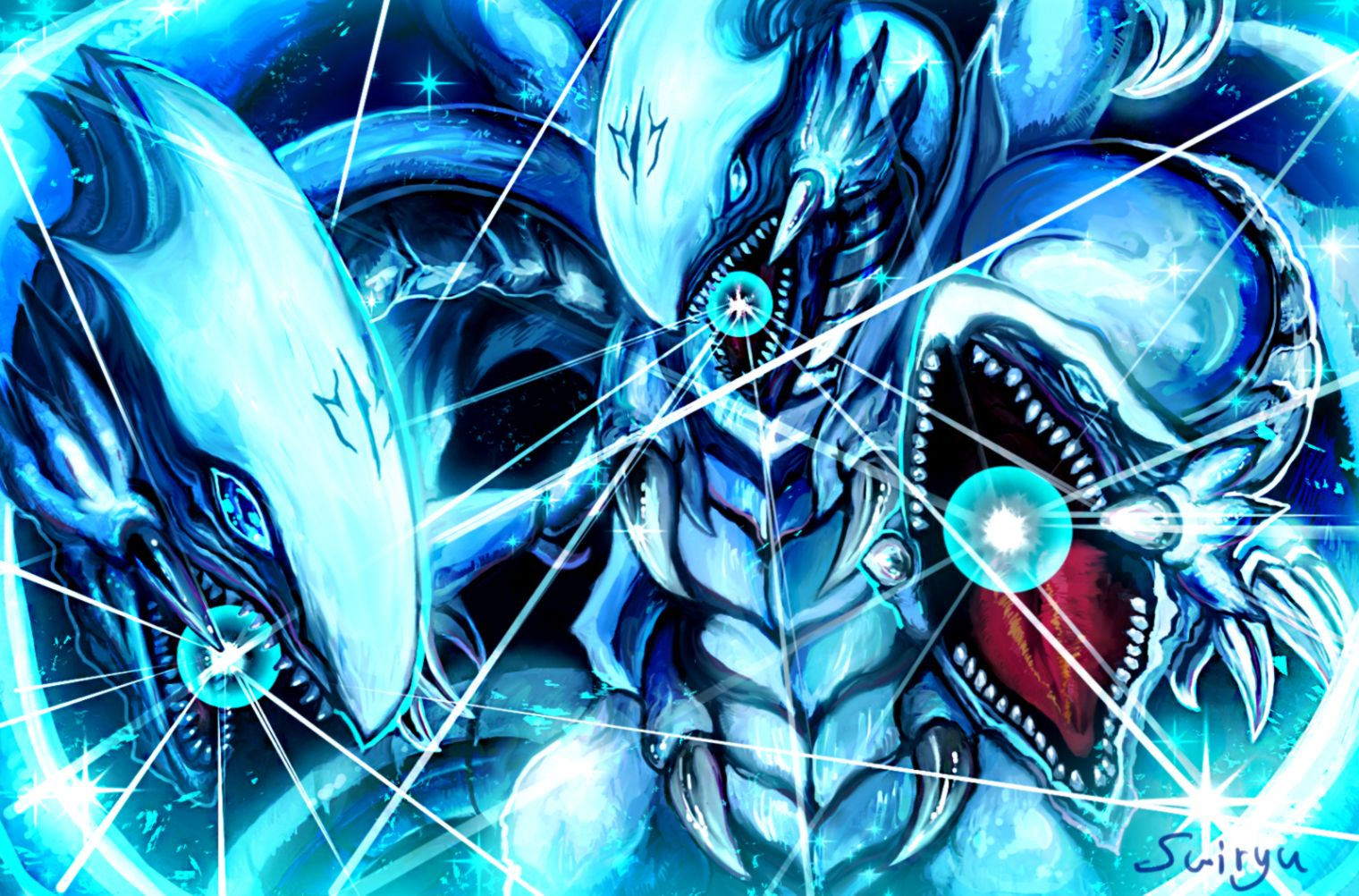 Blue Eyes Ultimate Dragon who may or not actually be better than