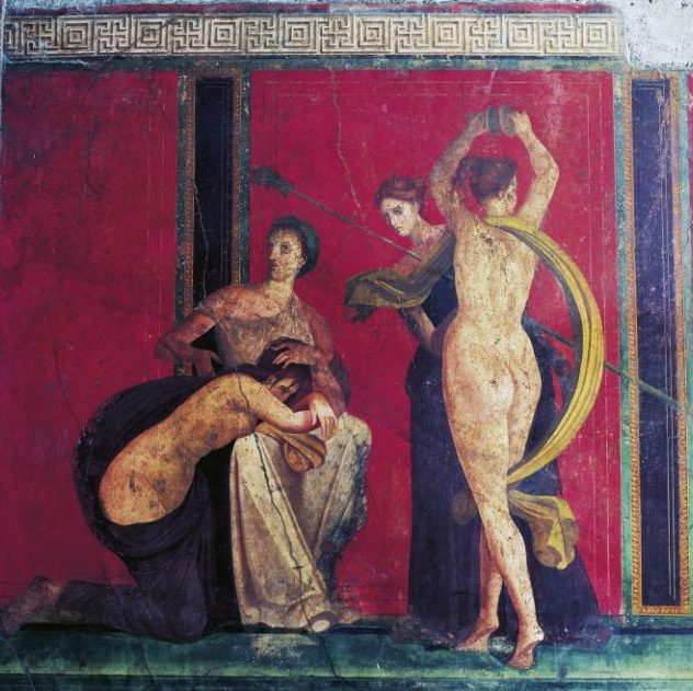 Pompeii's Villa of Mysteries at risk of collapse