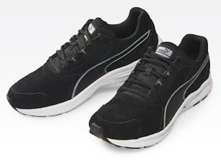 Buty Puma skórzane czarne z Biedronki