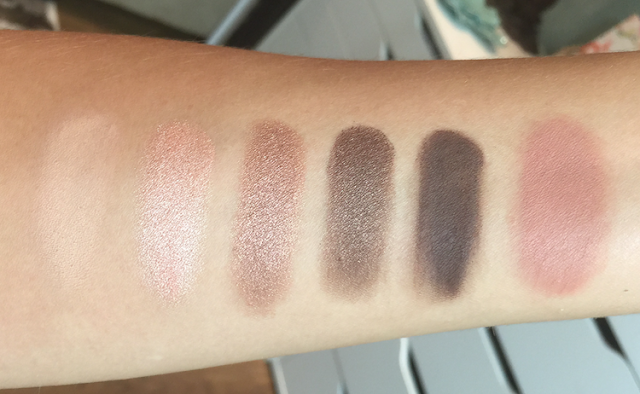 Tarte Double Duty Beauty Eye & Cheek Palette - Classic Courage swatches