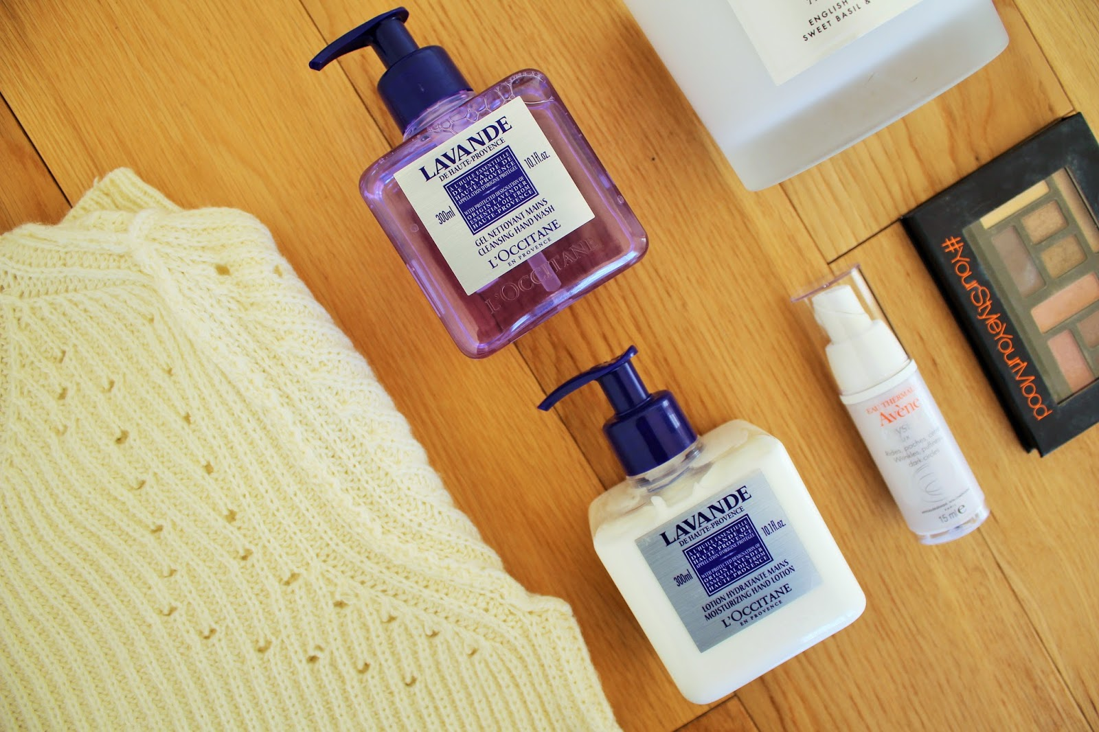 February Favourites - L'Occitane Hand Wash and Hand Cream in Lavender