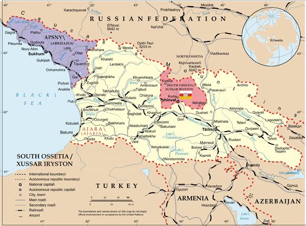Rusia justificó sus bases militares en Abjasia y Osetia del Sur por la OTAN