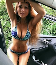 6 Photos of Keilah Kang and her Car