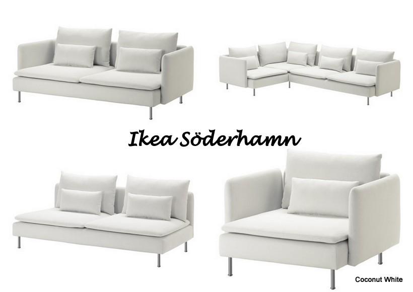 Ikea Söderhamn  vaihtoehtoja ja kokemuksia?  Coconut White
