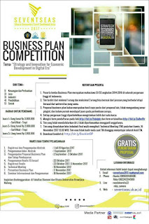 Lomba Bisnis Plan KSEI CIES 2017 by FEB UB for Mahasiswa