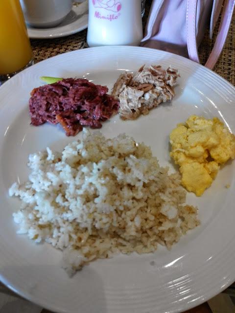 B Hotel Cafe FREE breakfast