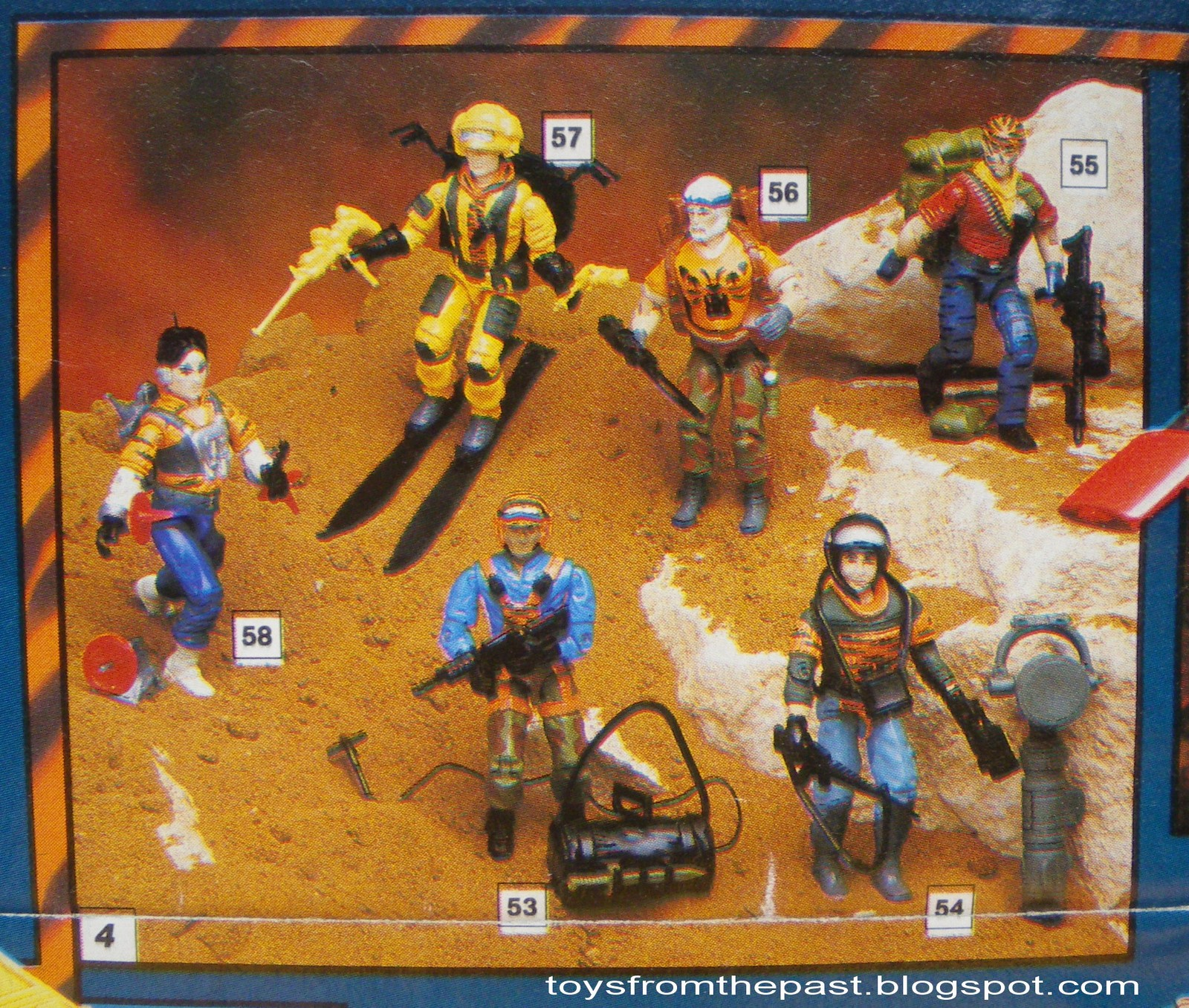 Toys From The Past 253 Gi Joe Tiger Force European