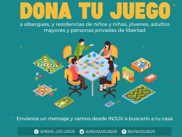 INJUV lanza campaña de donación de juegos de mesa