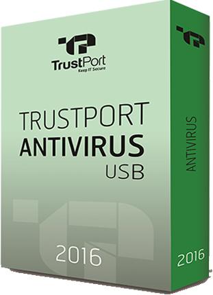 تحميل برنامج حماية الكمبيوتر من فيروسات الفلاشات TrustPort USB Antivirus