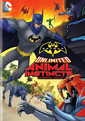 Batman Unlimited Animal Instincts 2015 DVD R1 NTSC Latino